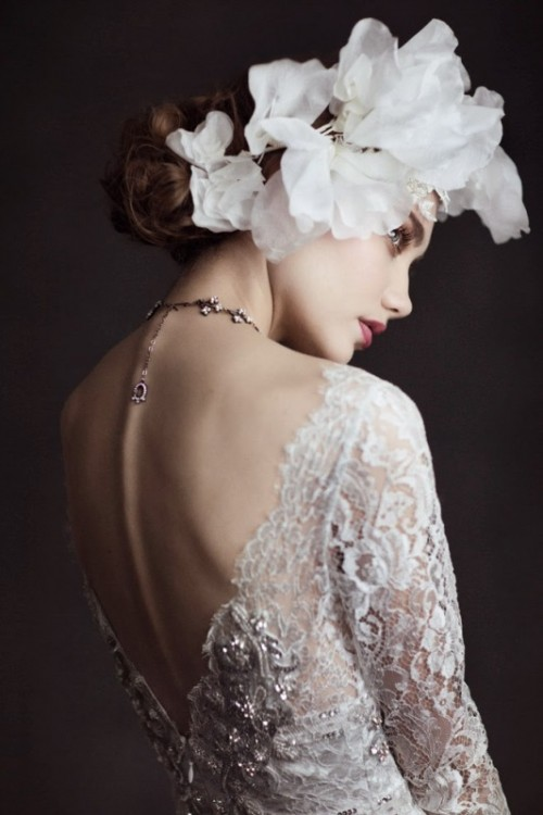 Captivating And Ethereal Claire Pettibone 2015 Bridal Collection