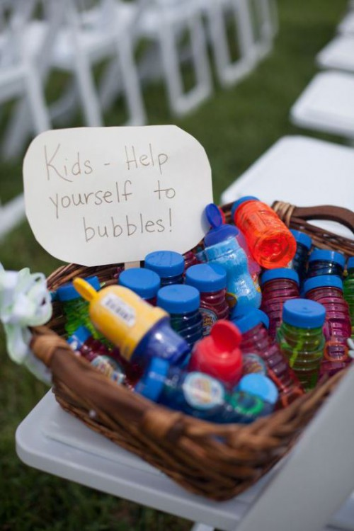 10 Cool Ways To Entertain Kids At Your Wedding