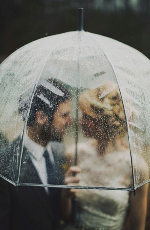 15 Cool Ideas For A Rainy Day Wedding