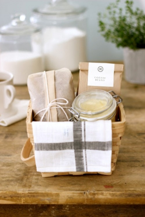 a spa box to relax after the wedding - a scrub, some soaps and other stuff that can be needed for a luxurious bath