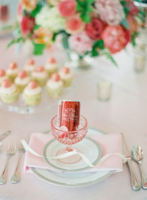 Girly And Sweet Bridal Shower Details