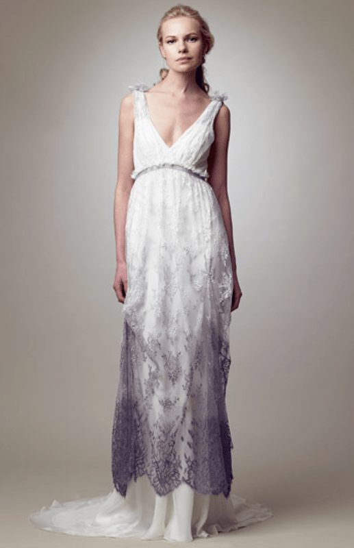 Picture Of Gorgeous Dip Dye Wedding Dresses To Get Inspired