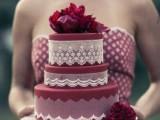 15-stunning-marsala-wedding-cake-ideas-10