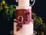 15-stunning-marsala-wedding-cake-ideas-2