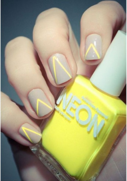 15 Ways To Rock Neon Nails On Your Wedding Day