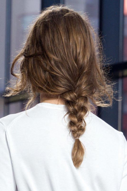 Picture Of summer wedding hairstyles to copy from the runway  2