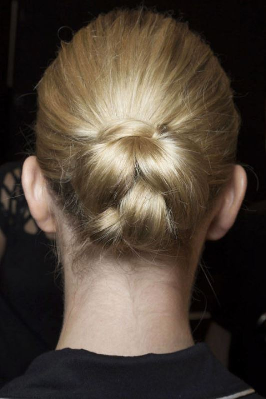 Picture Of summer wedding hairstyles to copy from the runway  7