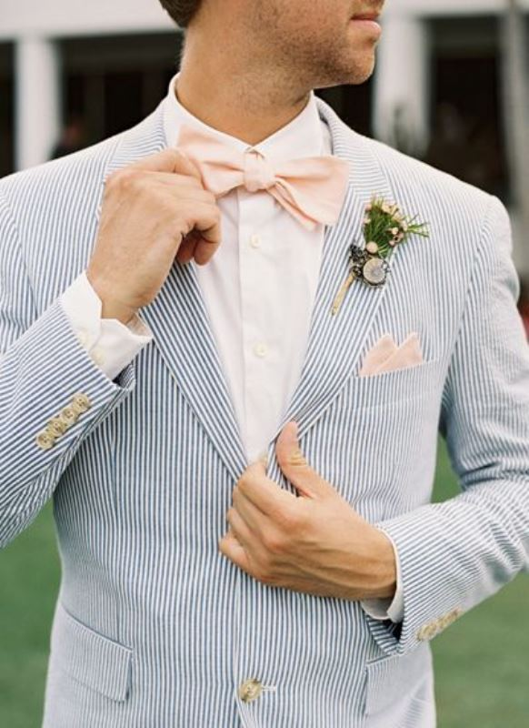 Picture Of patterned suits to spruce up your grooms look  15