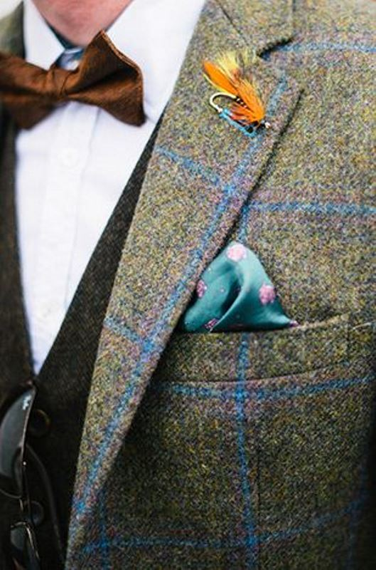 Picture Of patterned suits to spruce up your grooms look  16