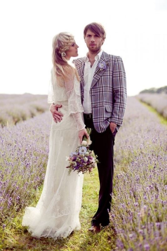 Picture Of patterned suits to spruce up your grooms look  17