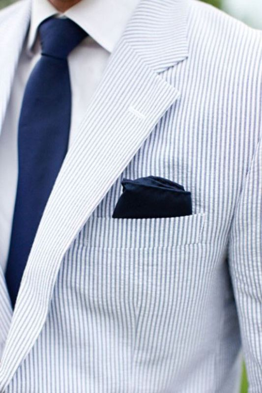 Picture Of patterned suits to spruce up your grooms look  2
