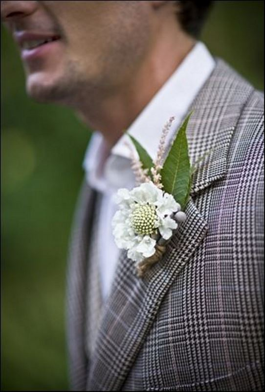 Picture Of patterned suits to spruce up your grooms look  6