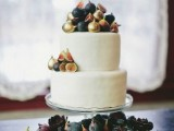 17 Stunning Wedding Cakes Topped With Fruits
