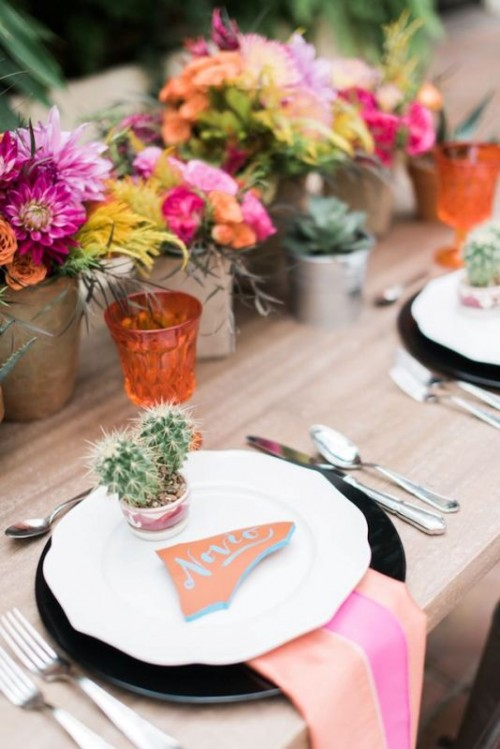 18 Fresh And Cool Ideas For A Cacti Filled Wedding