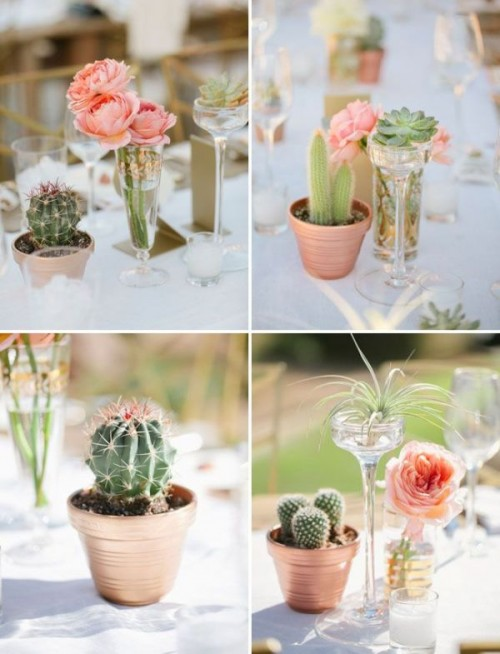 Fresh And Cool Ideas For A Cacti Filled Wedding