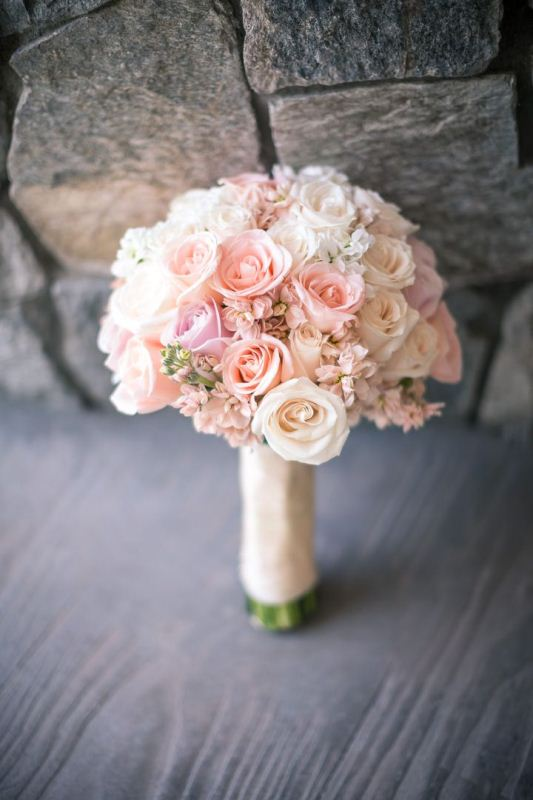 Picture Of mixed pastels wedding bouquets  11