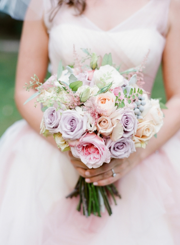 Picture Of mixed pastels wedding bouquets  14