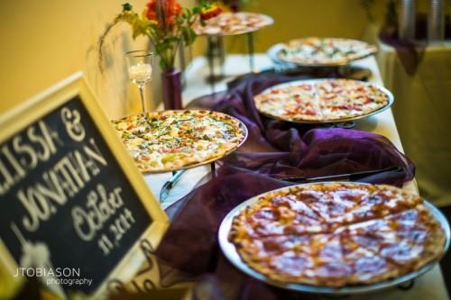 Fun Ways To Organize A Pizza Food Bar At Your Wedding