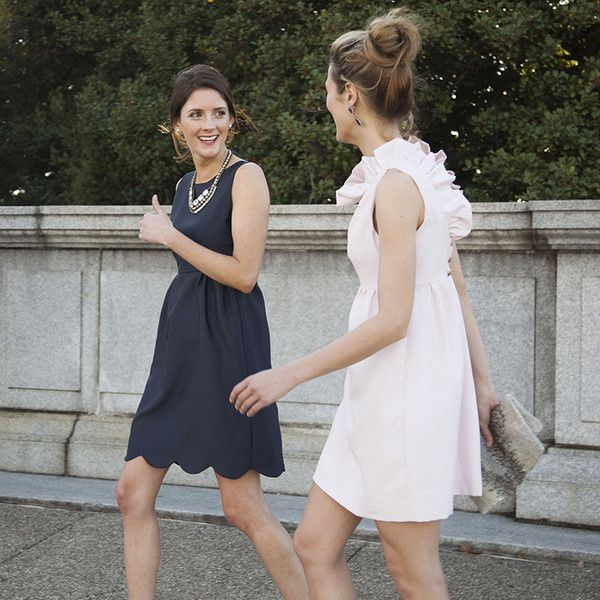 Picture Of charming bridesmaids dresses with ruffles  10