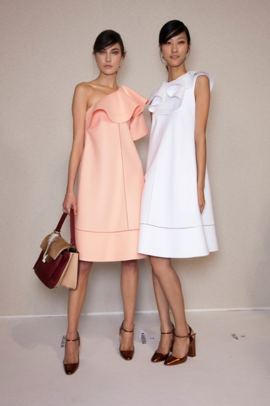 Picture Of charming bridesmaids dresses with ruffles  3