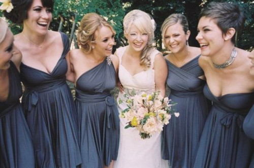 Convertible Bridesmaids Dresses To Get Inspired