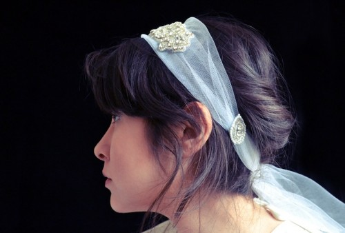 1930s Inspired Diy Wedding Headpiece