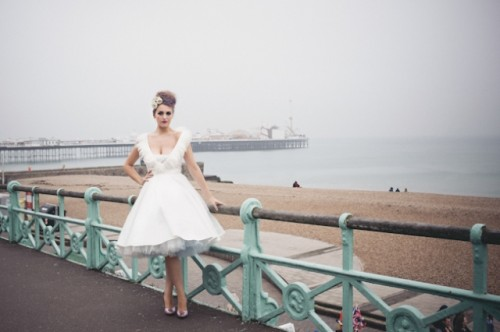 1950s Inspired Handmade Wedding Dresses Collection