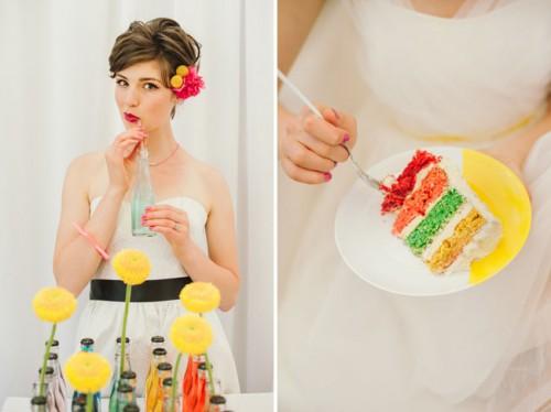 1950s Pop Art Wedding Inspirational Shoot