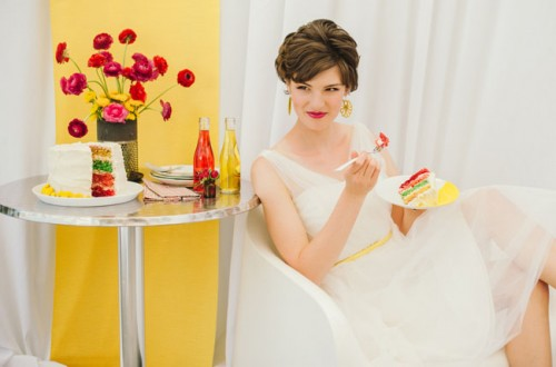 1950s Pop Art Wedding Inspirational Shoot