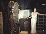 1950s Retro Dark Bridal Shoot