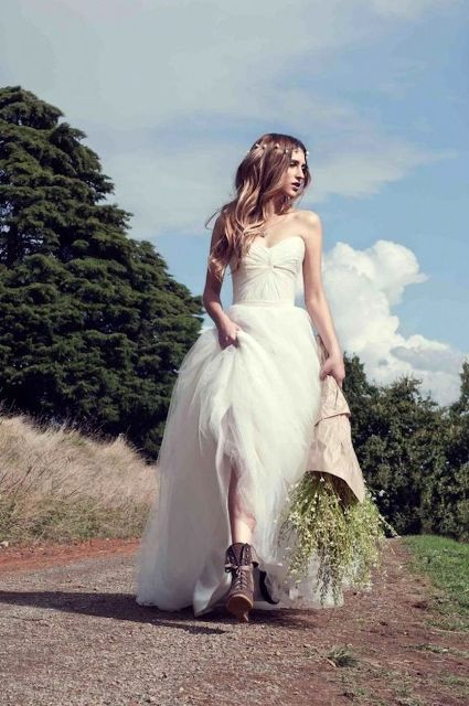 Cowgirl Boots For Wedding Dress 52 Cool Country Styled Fall Wedding