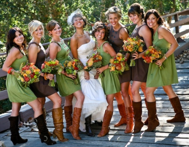 Cowgirl Boots For Wedding Dress 53 Good Country Styled Fall Wedding
