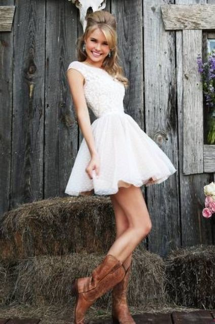Cowgirl Boots For Wedding Dress 85 Stunning Country Styled Fall Wedding
