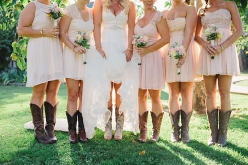 Cowgirl Boots For Wedding Dress 21 Marvelous Country Styled Fall Wedding
