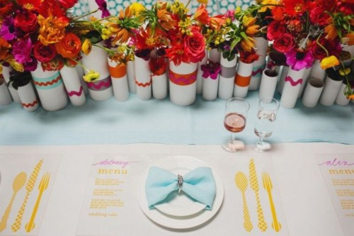 Colorful And Bright Beach Wedding Inspirational Ideas