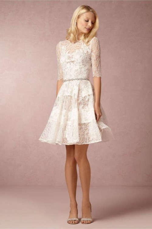 Short Wedding Dresses For Reception