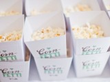 popcorn confetti is super fun, they are amazing for film-lover weddings and just for those who love popcorn