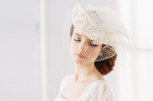 Gorgeous Bridal Hats To Get Inspired