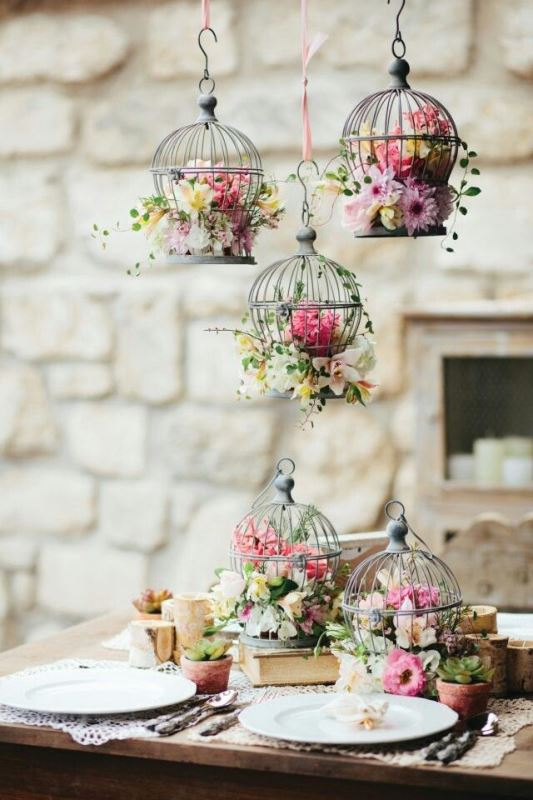 Floral Design Ideas 25 simple and cute rustic wooden box centerpiece ideas to liven up your decor Most Unique Floral Design Ideas For Your Spring Wedding