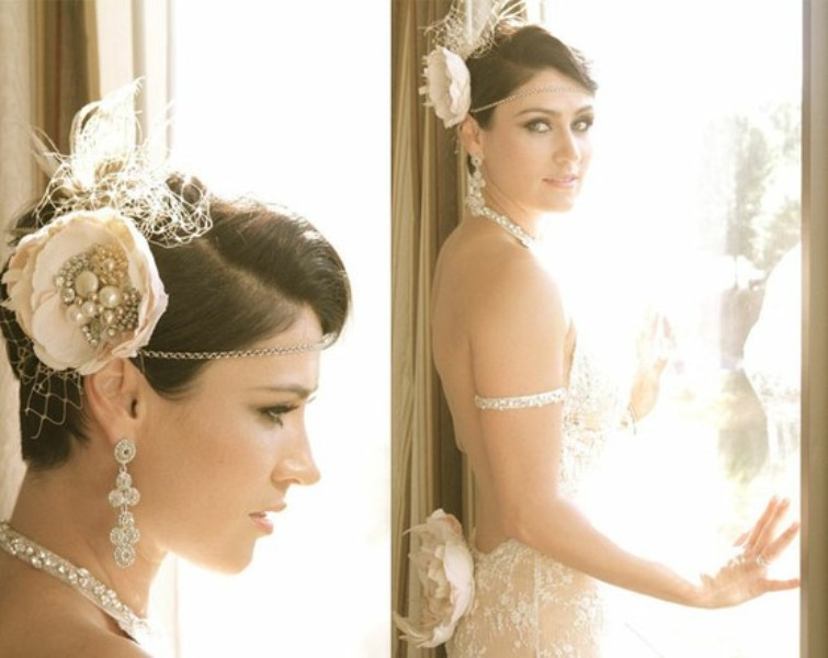 Top 20 Wedding Hairstyles For Medium Hair: Picture Of Short And Sassy Wedding Hairstyles