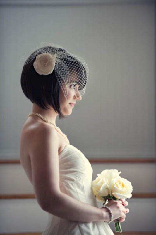 Short And Sassy Wedding Hairstyles
