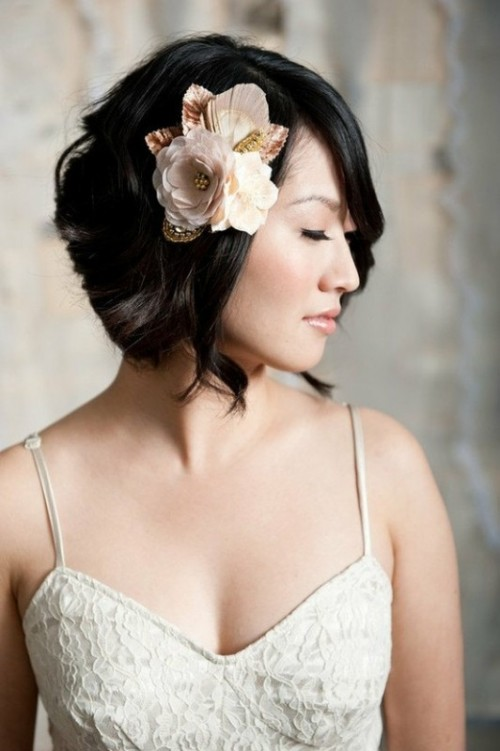 Short And Sassy Wedding Hairstyles