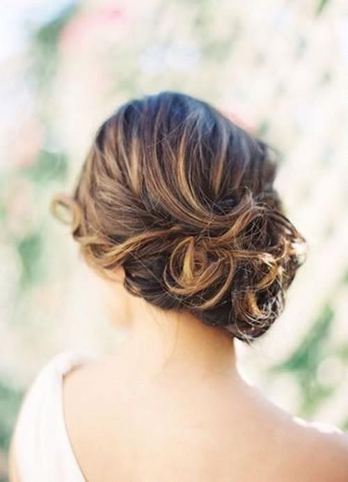20 Strikingly Gorgeous Side Updo Wedding Hairstyles - Weddingomania