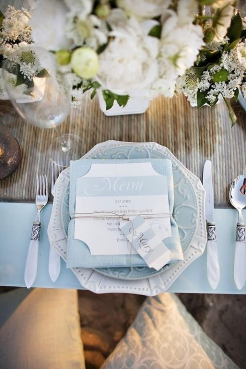 20 Sweet Powder Blue Wedding Ideas Weddingomania