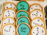 tea party glazed cookies as desserts and bridal shower favors