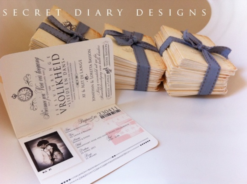 picture of unique wedding invitations to inspire - Cool Wedding Invitations