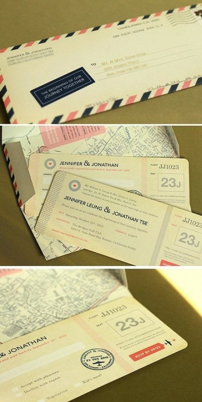 Unique Wedding Invitations To Inspire