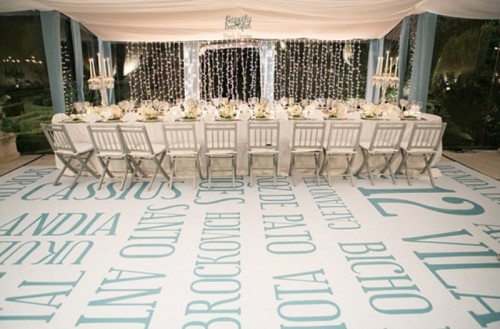 20 Rousing Wedding Dance Floor Ideas
