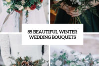 85 beautiful winter wedding bouquets cover