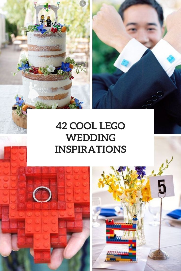 cool lego wedding inspirations cover